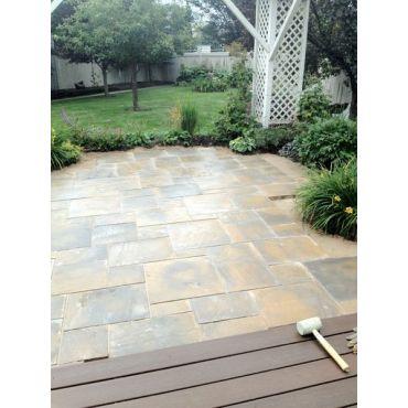 Leading Edge Landscape does patios!