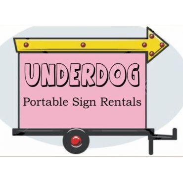 Underdog Portable Signs logo