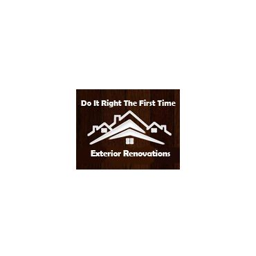 Do It Right The First Time Exterior Renovations logo