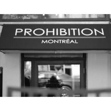 Prohibition Montreal logo