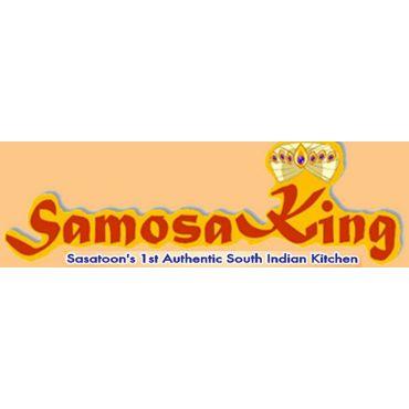 Samosa King logo