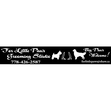 For Little Paws Grooming Studio PROFILE.logo
