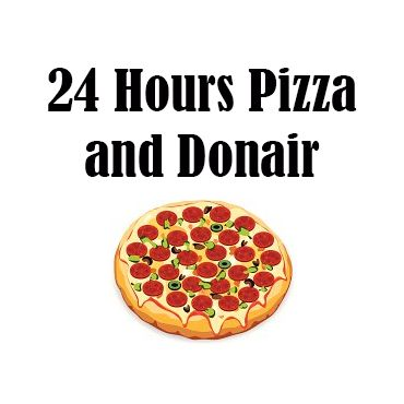 24 Hours Pizza and Donair PROFILE.logo