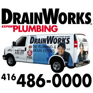 DrainWorks Plumbing logo