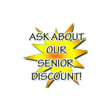 As us about our SENIORS discount!