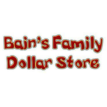BAINS FAMILY DOLLAR STORE logo