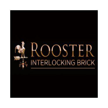 Rooster Interlocking Brick logo
