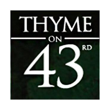 Thyme On 43rd logo