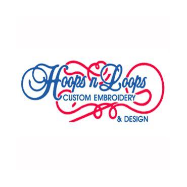 Hoops N Loops Custom Embroidery logo