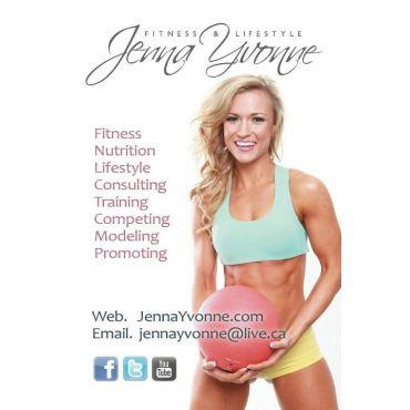 Jenna Yvonne - Fitness & Lifestyle logo