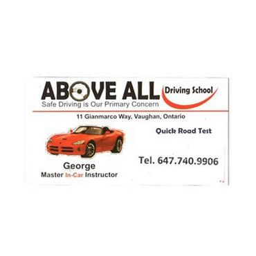 ABOVE ALL Driving School PROFILE.logo