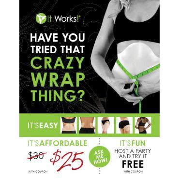 It Works wewrapyouskinny.com logo