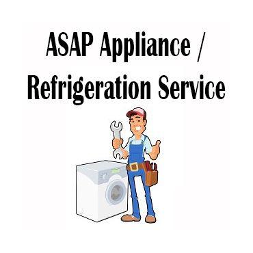 ASAP Appliance/Refrigeration Service logo