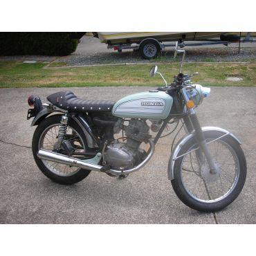 1975 cb 125 restored