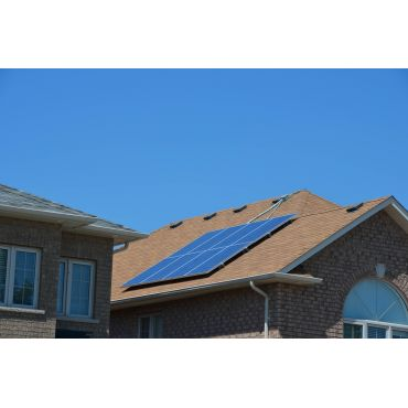 Solar powered home backup system