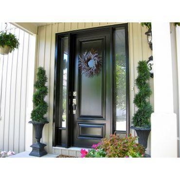 Fiberglass smooth finish Executive door
