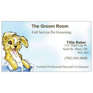 The Groom Room PROFILE.logo