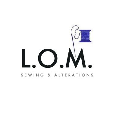 L.O.M. Sewing & Alterations logo
