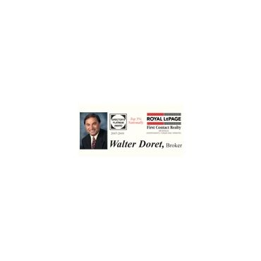 Walter Doret-Broker-Royal LePage First Contact Realty Inc. Brokerage PROFILE.logo