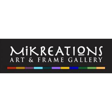 Mikreations Art & Frame Gallery logo