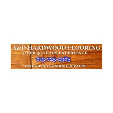 A & D Hardwood Flooring logo
