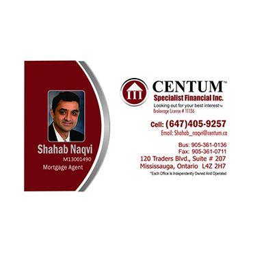 Shahab Naqvi - Centum Specialist Financial Inc. logo