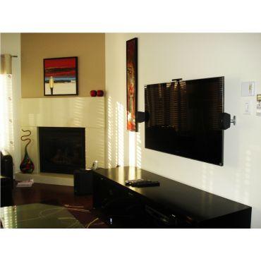 TV Installed With Surround Sound