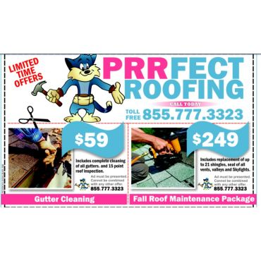 Prrfect Roofing logo