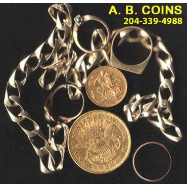 A B Coins & Collectables logo