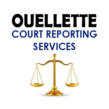 Ouellette Court Reporting Services logo