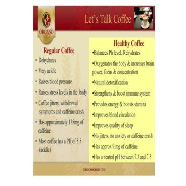 Compare ordinary coffee to OG COFFEE !