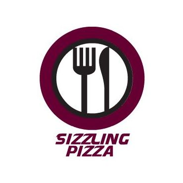 Sizzling Pizza logo