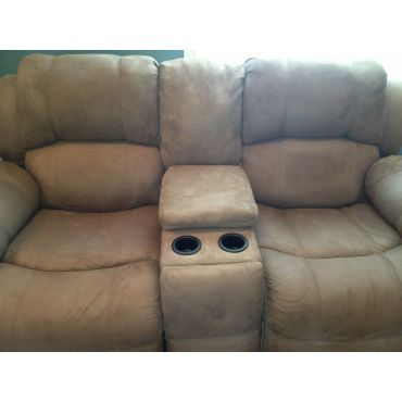 Clean Microfibre Couch