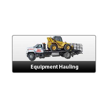 Equipment hauling