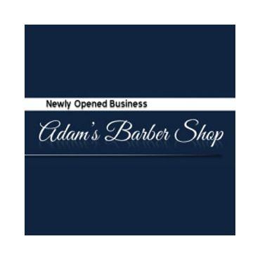 Adam's Barber Shop logo
