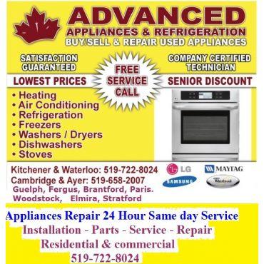 Advance Appliance & Refrigeration Repair PROFILE.logo