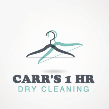 Carr's 1 HR Dry Cleaning logo