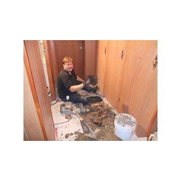 Our Etobicoke Plumber hard at work
