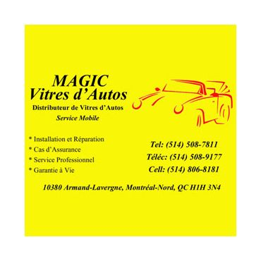 Magic Vitres d'Autos 9411706 logo