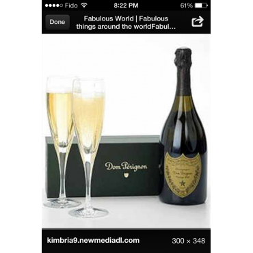 Find all th exclusive champagnes