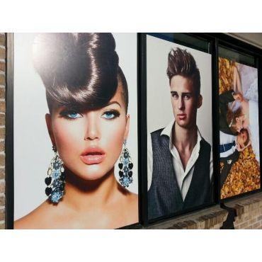 Hair Salon Window Graphics