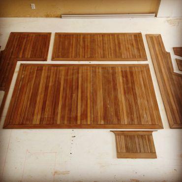 teak deck panels