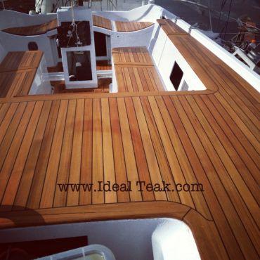 teak yacht decking