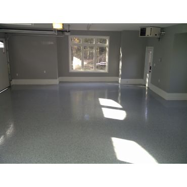 Custom Epoxy Garage Floor