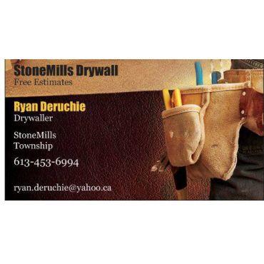 StoneMills Drywall logo