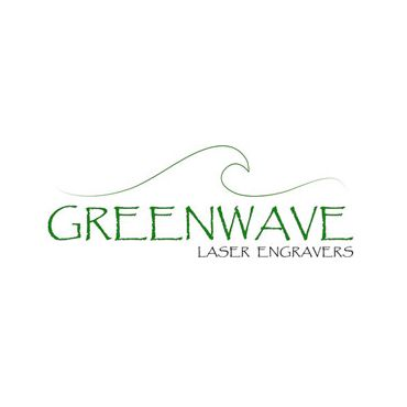 Green Wave Laser Engravers logo