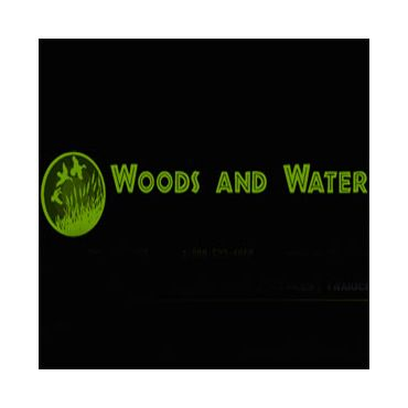 Woods and Water Taxidermy, Guiding, and Hunting Club logo