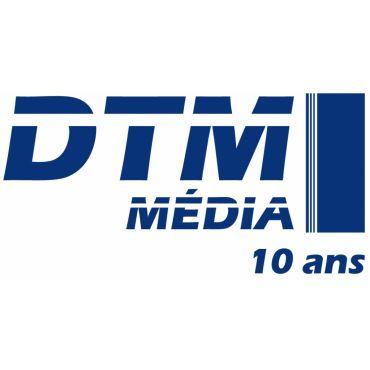 DTM Média -- T-Shirt logo