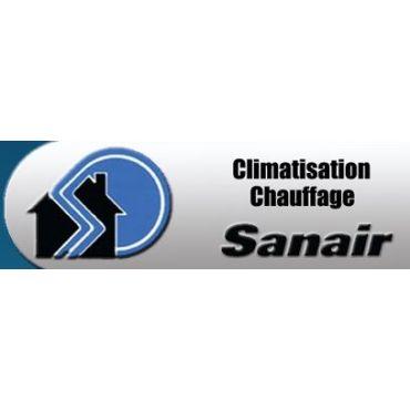 Climatisation Chauffage Sanair logo