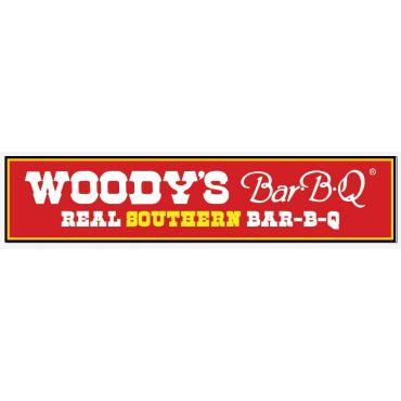 Woody's Bar-B-Q logo